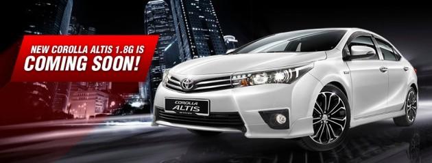 Sau Việt Nam, Toyota Altis mới cập bến Malaysia với giá từ 751 triệu đồng