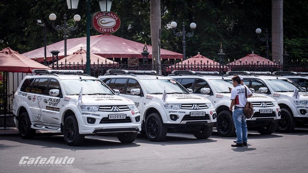 Hành trình Pajero Sport chinh phục Việt Nam đã đến Hà Nội