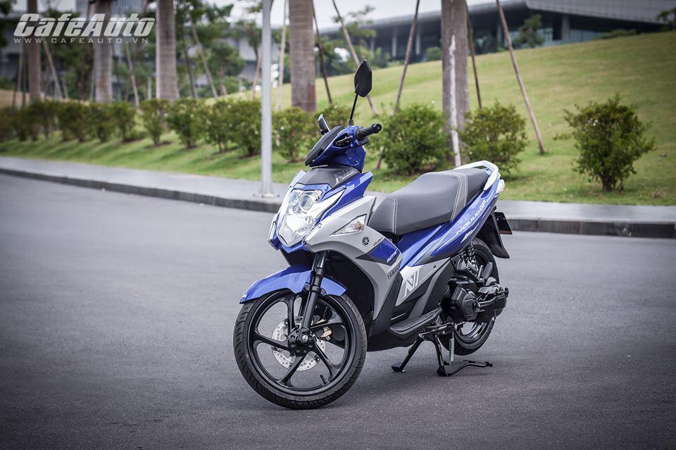 Rẻ hơn tới 2 triệu đồng Yamaha Nouvo Fi 2015 có gì mới?