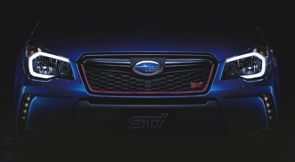 """Subaru Forester STI khoe """"ảnh nóng"""" trước ngày ra mắt"""