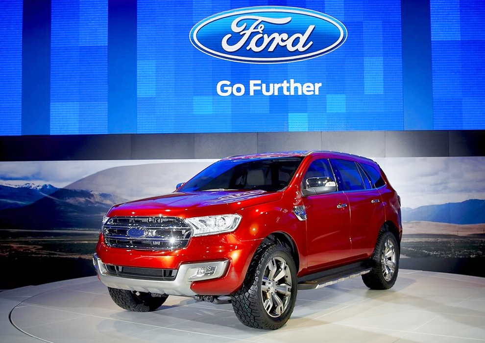 Ford Everest hoàn toàn mới sẽ ra mắt vào 14/11 tới