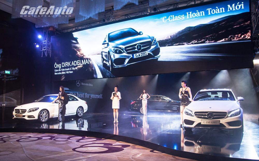 Mercedes-Benz C-Class hoàn toàn mới ra mắt, giá từ 1,3 tỷ đồng