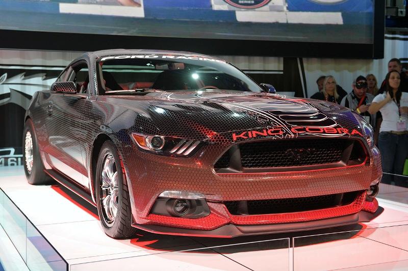 """SEMA Show 2014: """"Rắn hổ"""" Mustang King Cobra dẫn đoàn"""