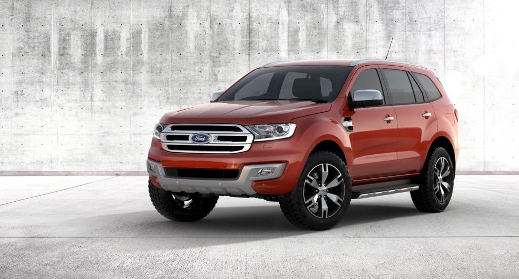 Ford Everest 2015 ra mắt với hàng loạt nâng cấp đáng giá