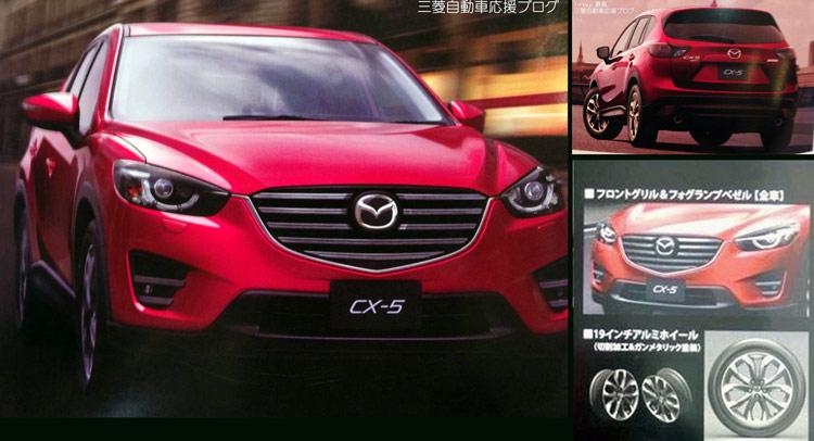 """Mazda CX-5 2015 lộ """"ảnh nóng"""""""