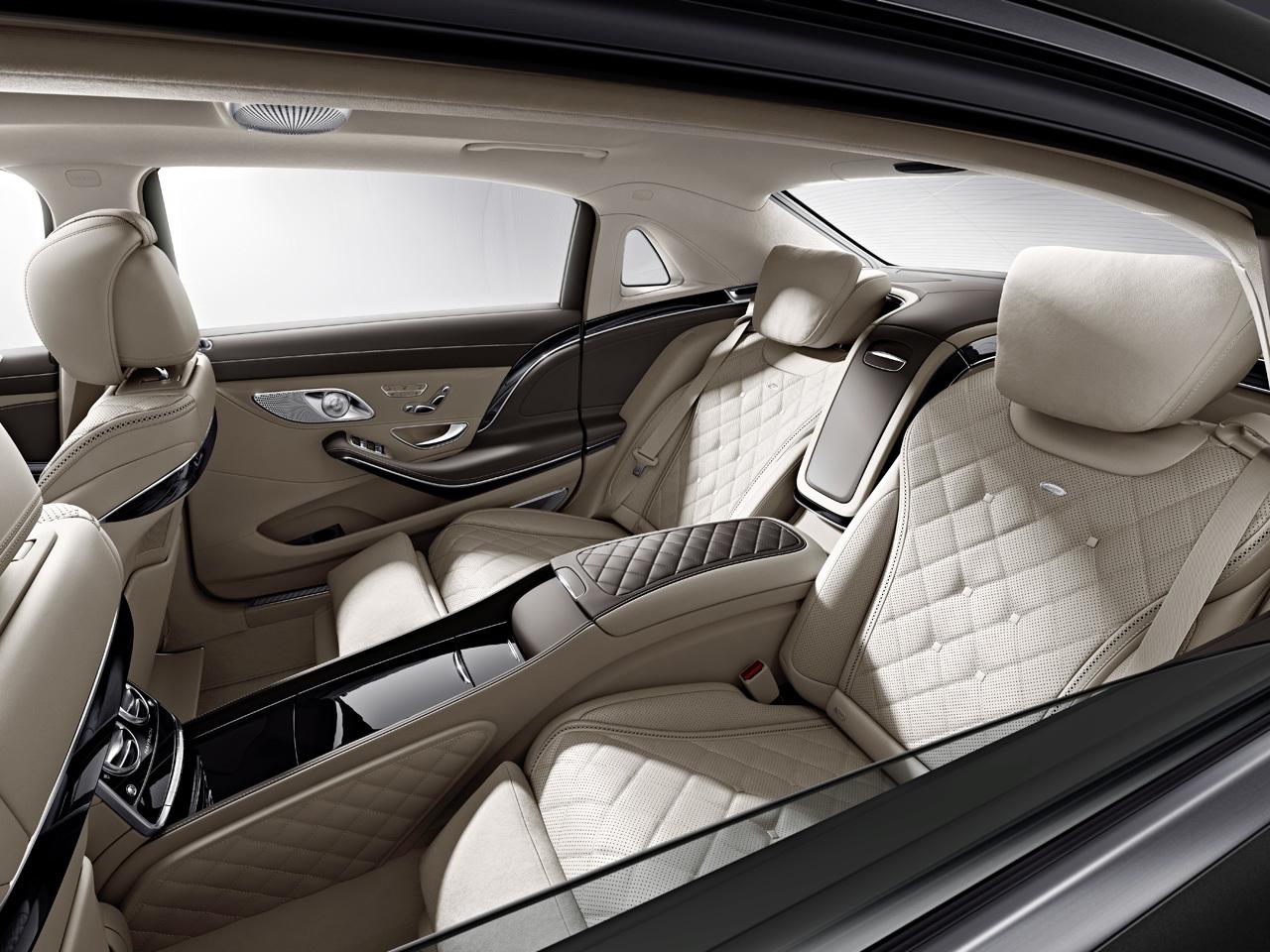 Mercedes-Maybach lộ diện nội thất cực sang trọng