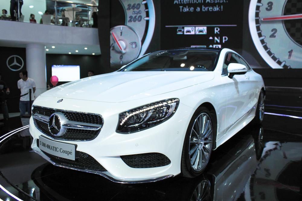 Cận cảnh Mercedes S 500 4MATIC giá 7,19 tỷ đồng