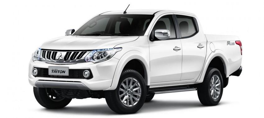 Mitsubishi ra mắt pick-up Triton thế hệ mới với phong cách