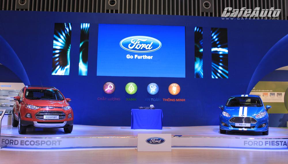 VMS 2014: Ford Việt Nam mang đến dàn xe One Ford