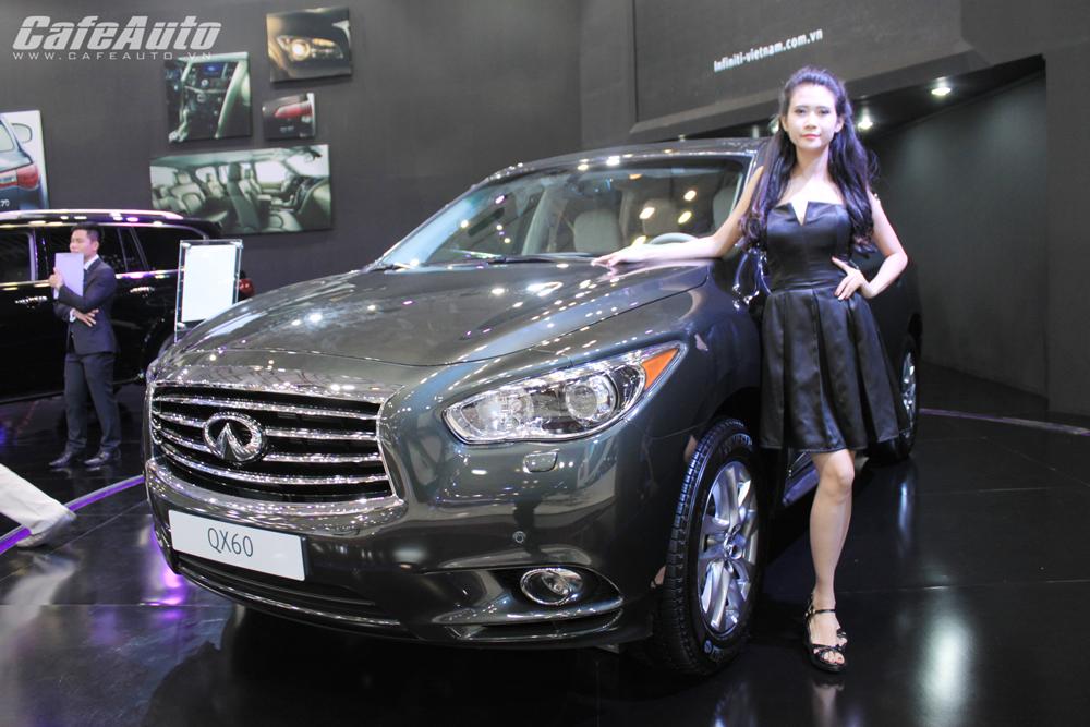 VMS 2014: Infiniti QX60 chốt giá 2,69 tỷ đồng tại Việt Nam
