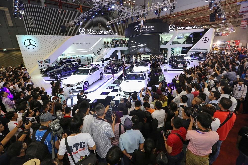 VMS 2014: Mercedes-Benz Việt Nam - Đẳng cấp của thương hiệu hạng sang
