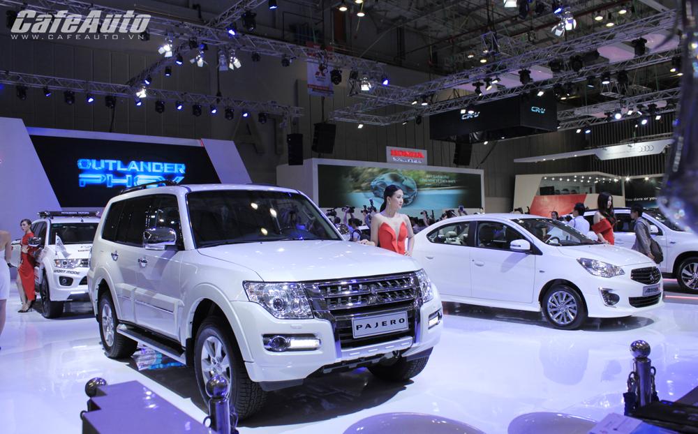VMS 2014: Mitsubishi đưa tất cả mẫu xe đến triển lãm