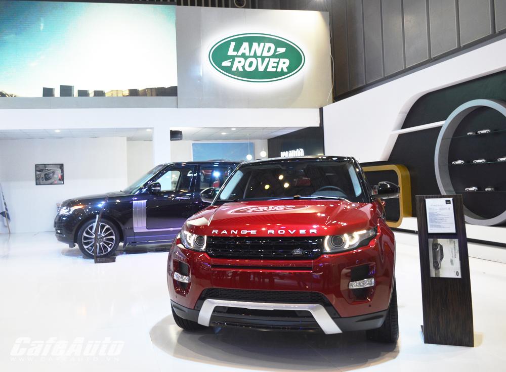 VMS 2014: Trải nghiệm phong cách Anh tại gian hàng Land Rover