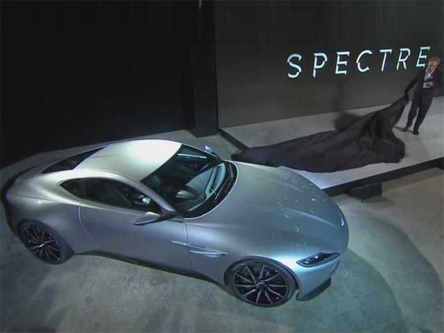 """Aston Martin """"khoe"""" xe mới dành cho điệp viên 007"""