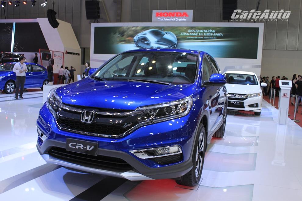 Honda CR-V 2015  lên kệ từ ngày 12/12