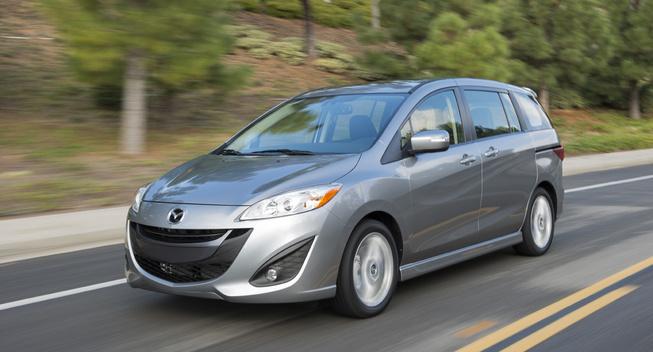 Mazda5 ngừng sản xuất vào 2015