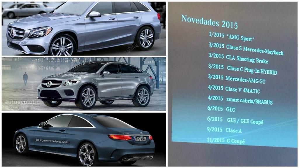 Mercedes-Benz tiết lộ kế hoạch ra mắt xe năm 2015