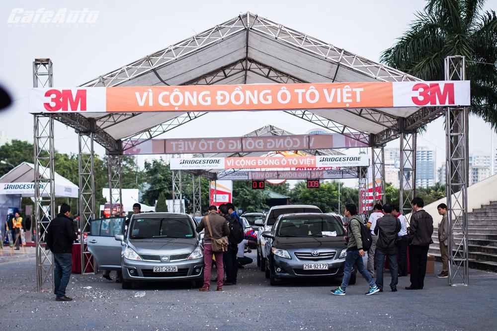 Sôi động cùng ngày hội chăm sóc xe tại Hà Nội