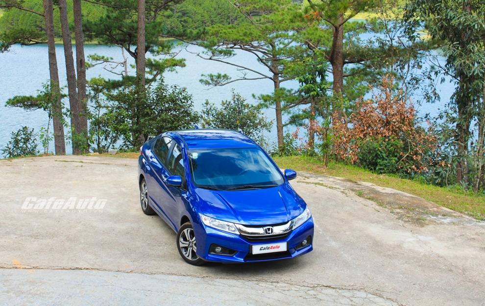 Cơ hội lái thử Honda City trong tháng 12 trên toàn quốc