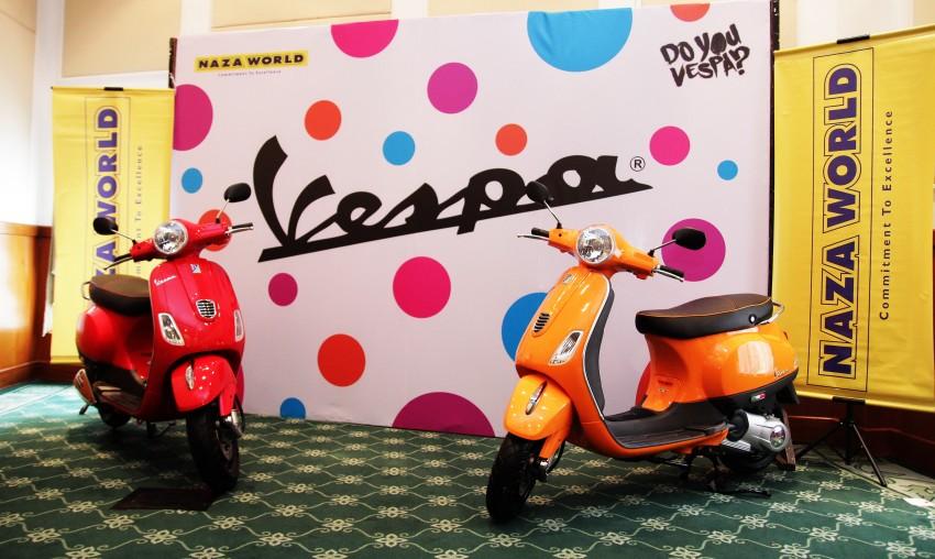 Vespa LT ra mắt ở Malaysia: động cơ 150cc, giá 60 triệu