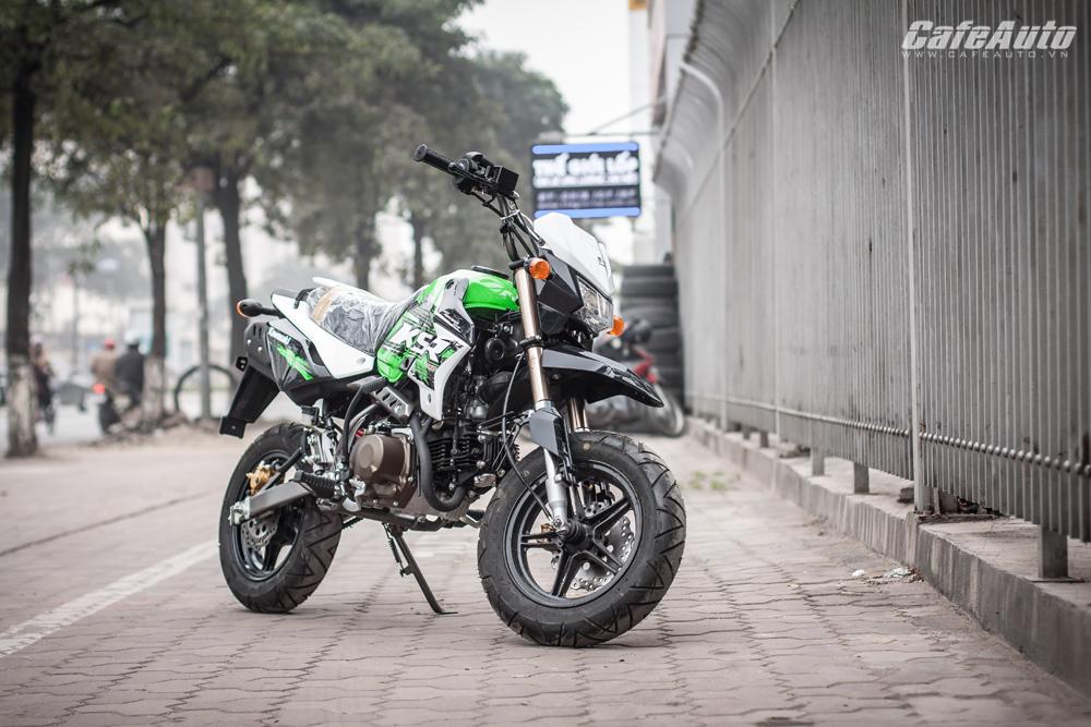 """Cận cảnh """"quỷ nhỏ"""" Kawasaki KSR Pro giá 110 triệu tại Hà Nội"""