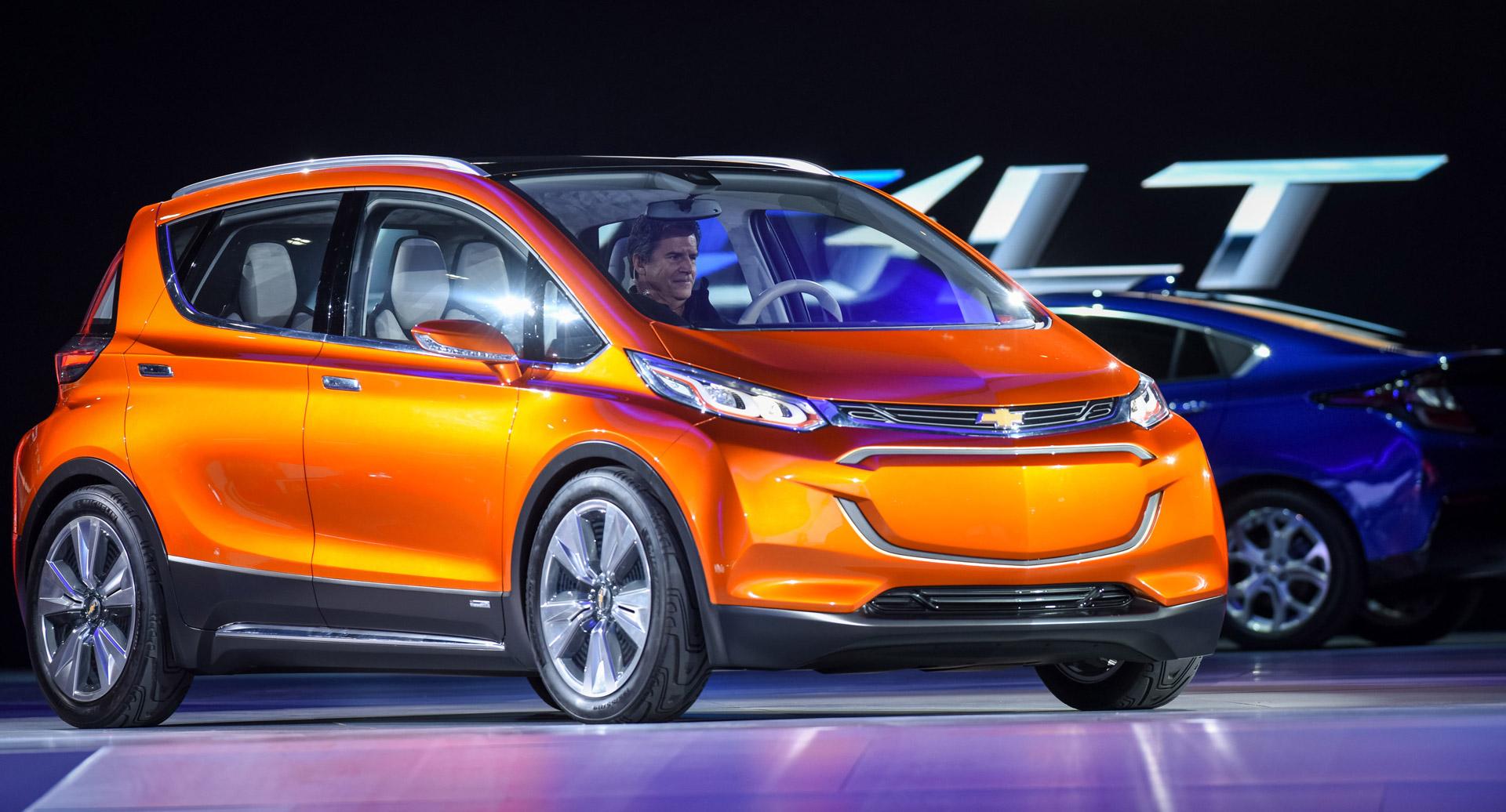 Detroit Auto Show 2015: Chevrolet ra mắt dòng xe điện Bolt