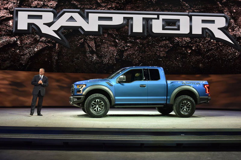 Detroit Auto Show 2015: Ford F150 Raptor 2017 ra mắt