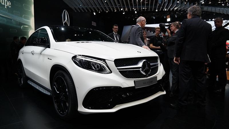 Detroit Auto Show 2015: Mercedes trình làng GLE Coupe phiên bản sản xuất