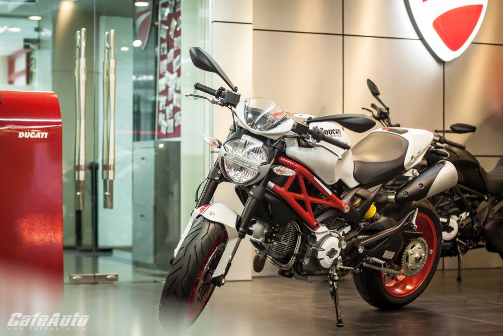 Ducati Monster 796 S2R về Việt Nam giá 405 triệu đồng