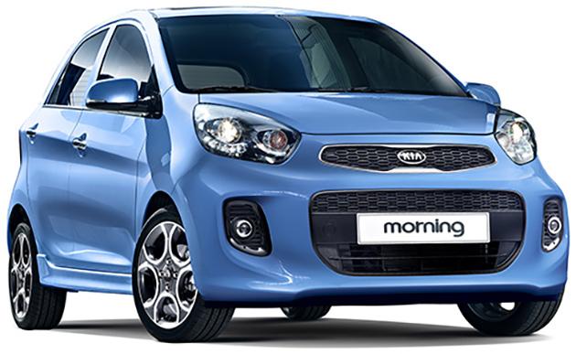Kia Morning 2015 ra mắt với động cơ tăng áp 1.0 lít mới