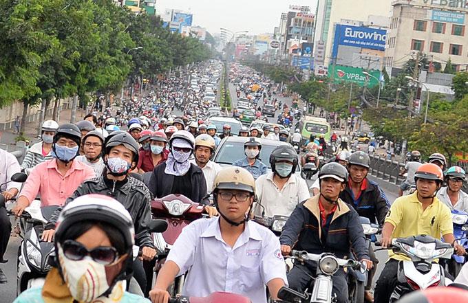 Lại đề xuất hạn chế xe cá nhân