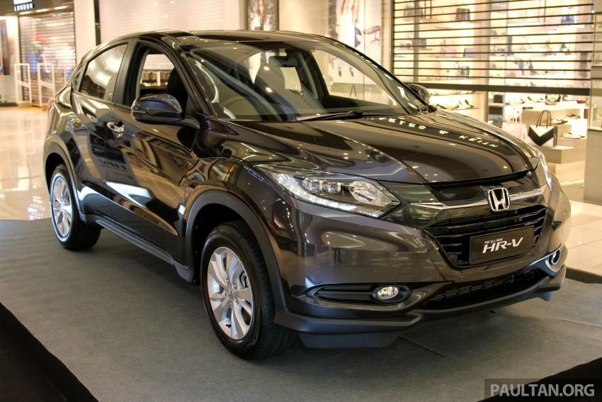 Cận cảnh Honda HR-V tại Malaysia