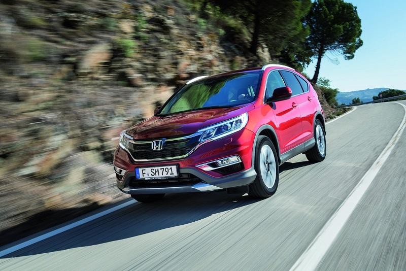 Honda CR-V phiên bản châu Âu tiết kiệm không ngờ