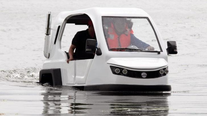 Bất ngờ Philippines chế xe điện lội nước giá chỉ 6.000 USD
