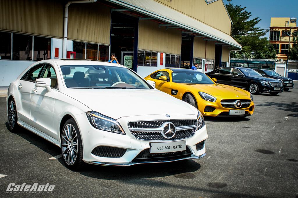 Chiêm ngưỡng Mercedes-Benz CLS 500 và GLA 250 vừa ra mắt tại Việt Nam