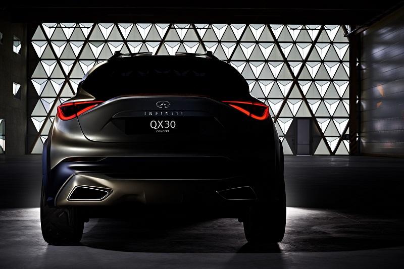 Infiniti QX30 sẽ ra mắt tại Geneva Auto Show 2015