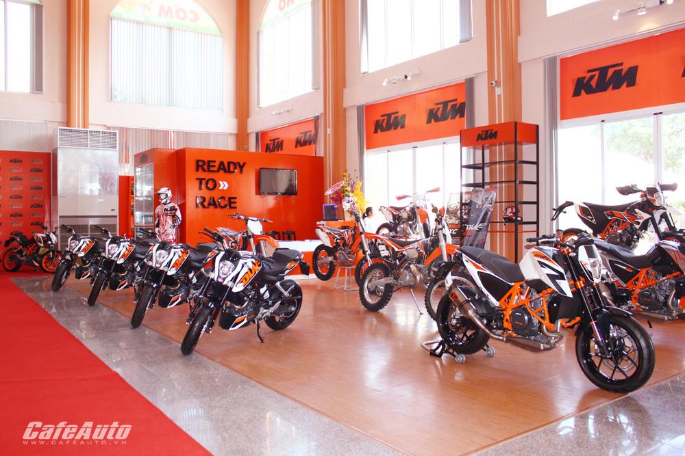 KTM khai trương đại lý mới tại Đồng Nai