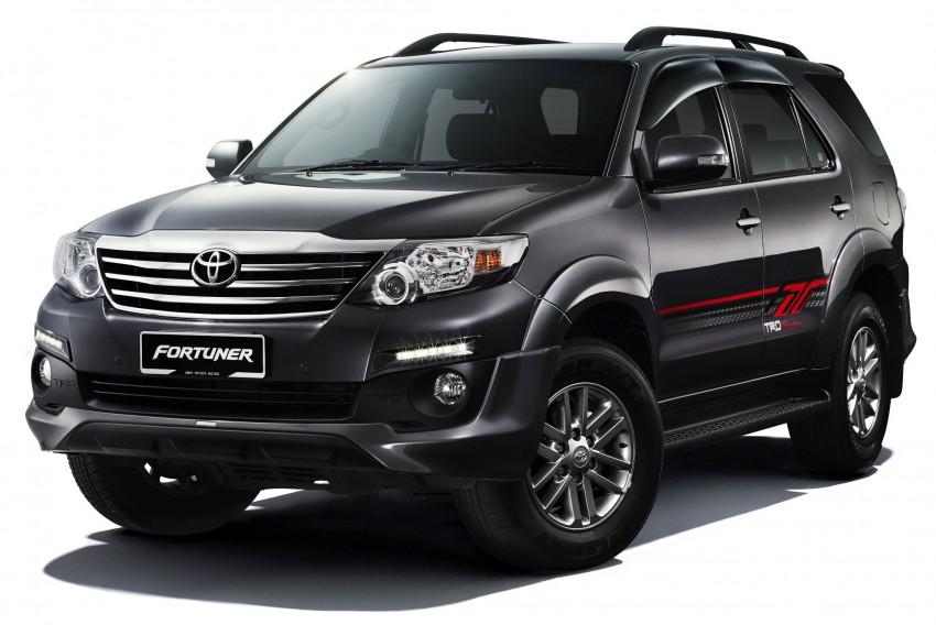 Toyota Fortuner 2015 công bố bản nâng cấp