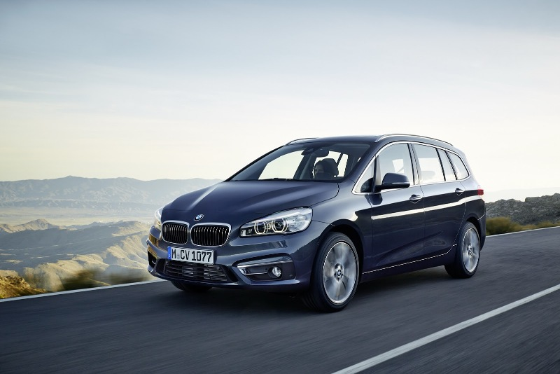 BMW công bố chi tiết 2-Series Gran Tourer