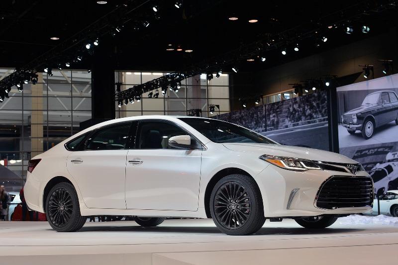 Chicago Auto Show 2015: Toyota Avalon 2016 thể thao và phong cách hơn