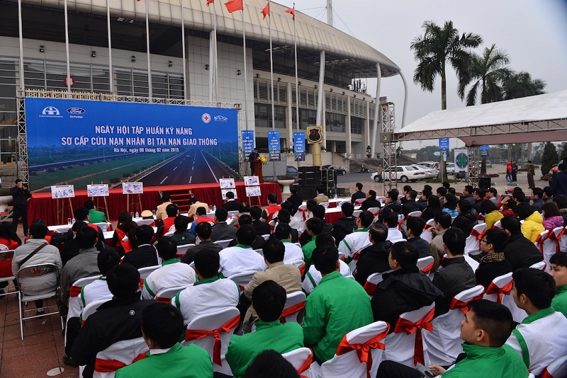 Ford Việt Nam tập huấn kỹ năng sơ cứu