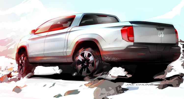 Honda phác thảo đối thủ Ford Ranger trong tương lai