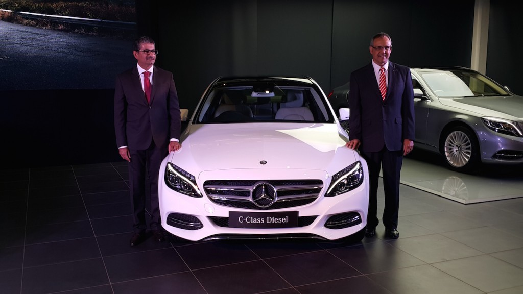Mercedes-Benz C-Class diesel ra mắt tại Ấn Độ