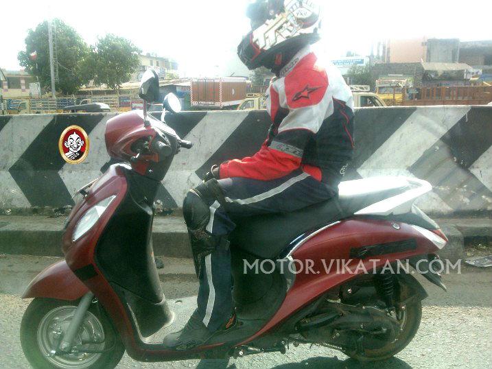 Bắt gặp Nozza Grande 125cc chạy thử ở Ấn Độ