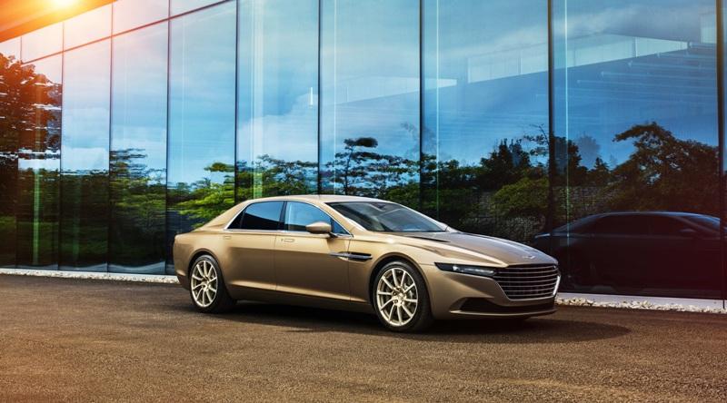 Aston Martin Lagonda Taraf dành riêng cho giới nhà giàu