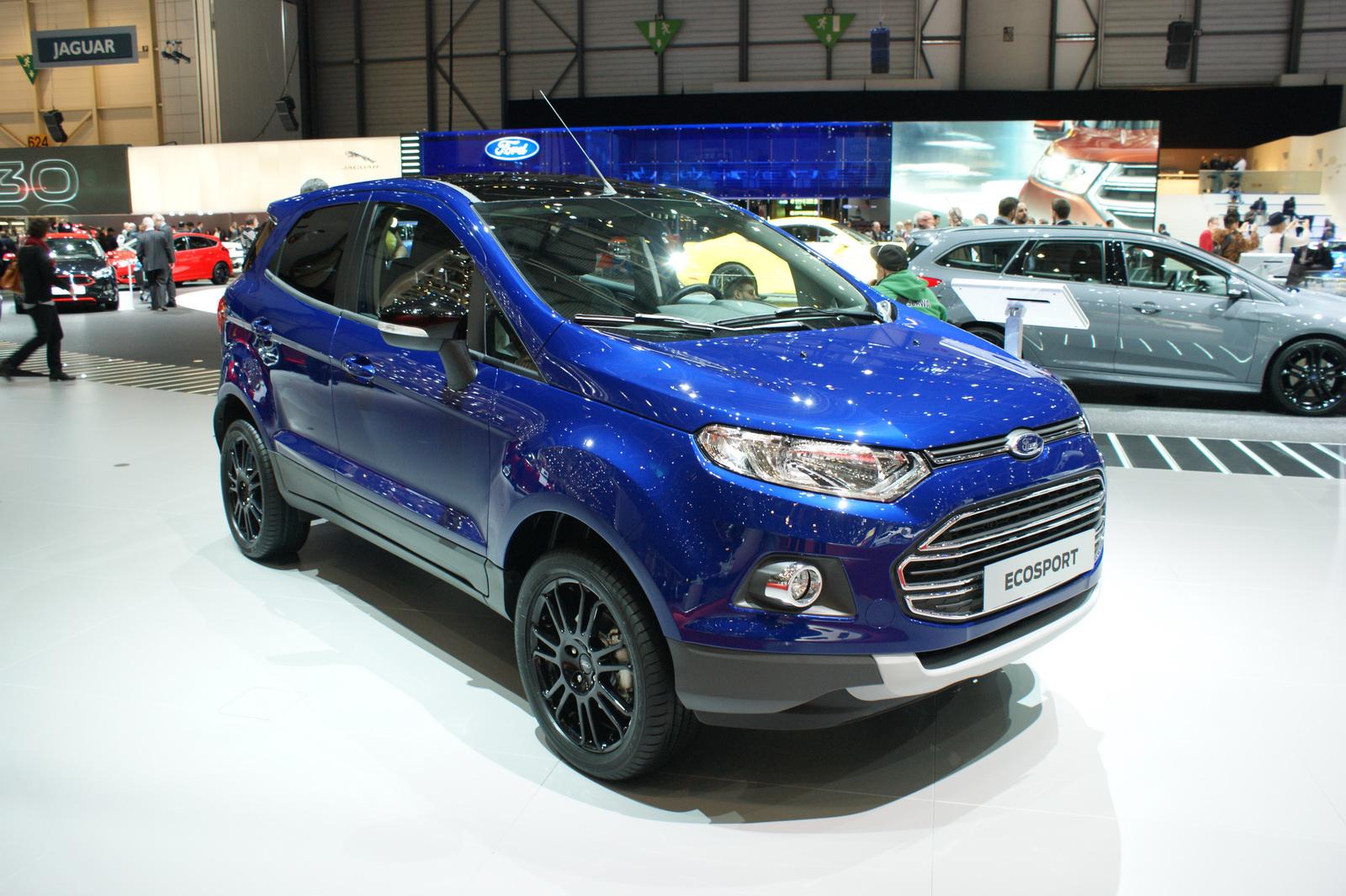 Ford giới thiệu EcoSport S cho thị trường Châu Âu