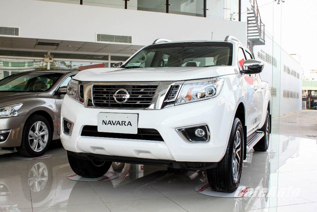 Lộ ảnh nóng Nissan Navara 2015 tại Sài Gòn