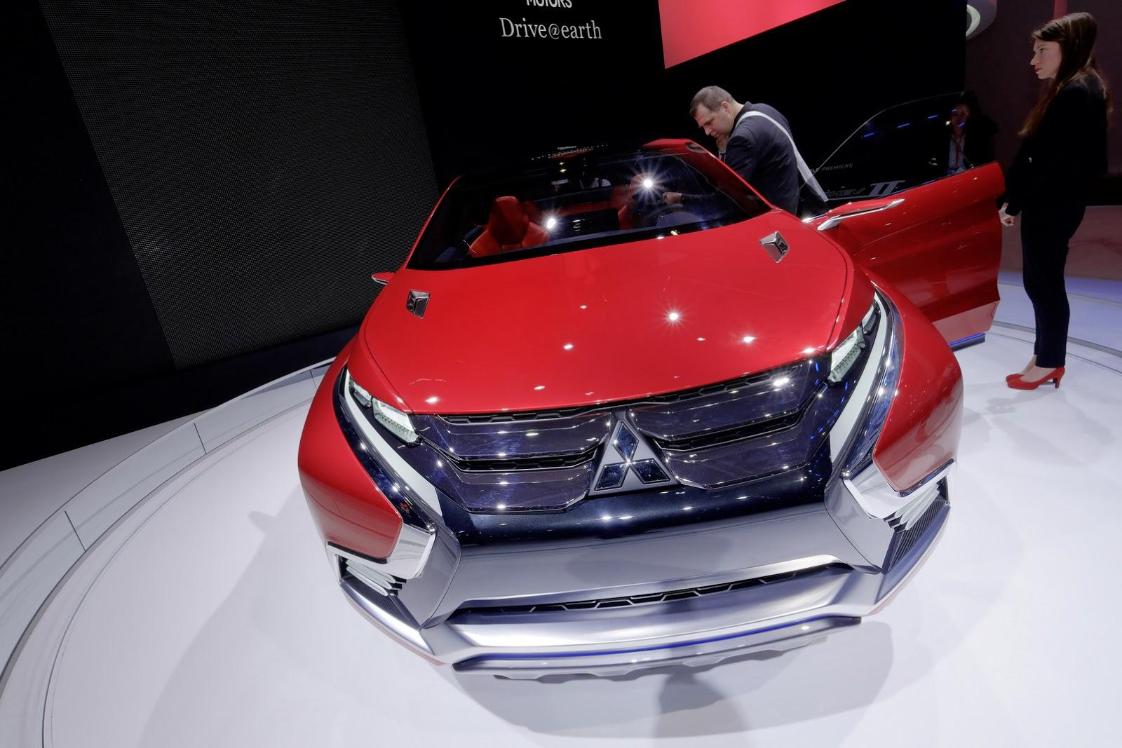 Mitsubishi xác nhận XR-PHEV II concept là đại diện cho thế hệ SUV mới