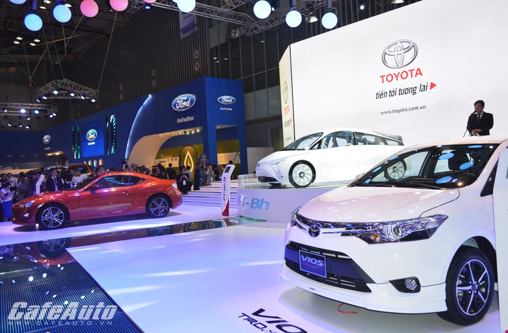 Toyota Việt Nam tăng giá bán nhiều dòng xe