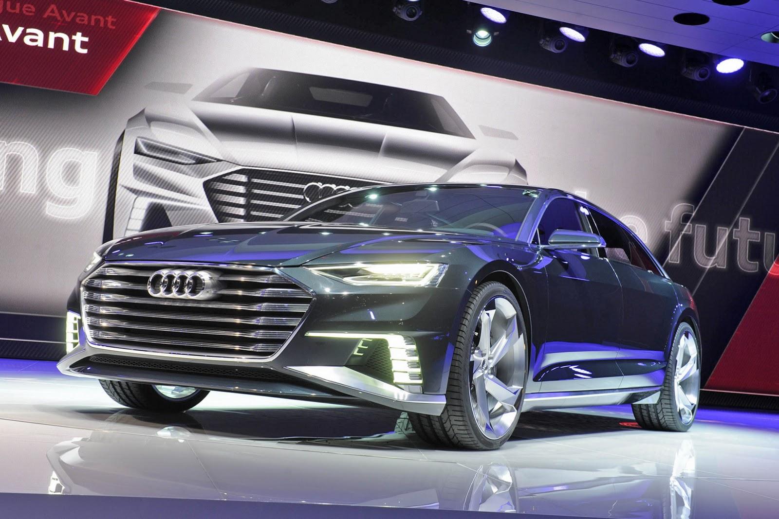 Audi A8 tự lái sẽ ra mắt vào năm 2017